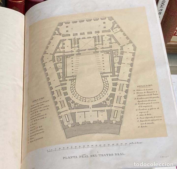 Libros antiguos: AÑO 1850 - MEMORIA HISTÓRICO ARTÍSTICA DEL TEATRO REAL DE MADRID POR MANUEL JUAN DIANA - LITOGRAFÍAS - Foto 4 - 219422920