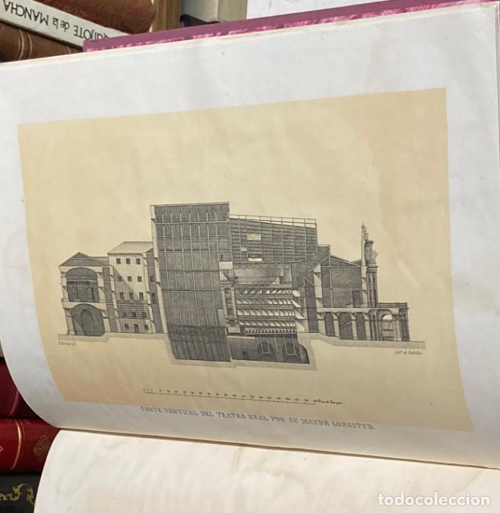 Libros antiguos: AÑO 1850 - MEMORIA HISTÓRICO ARTÍSTICA DEL TEATRO REAL DE MADRID POR MANUEL JUAN DIANA - LITOGRAFÍAS - Foto 5 - 219422920