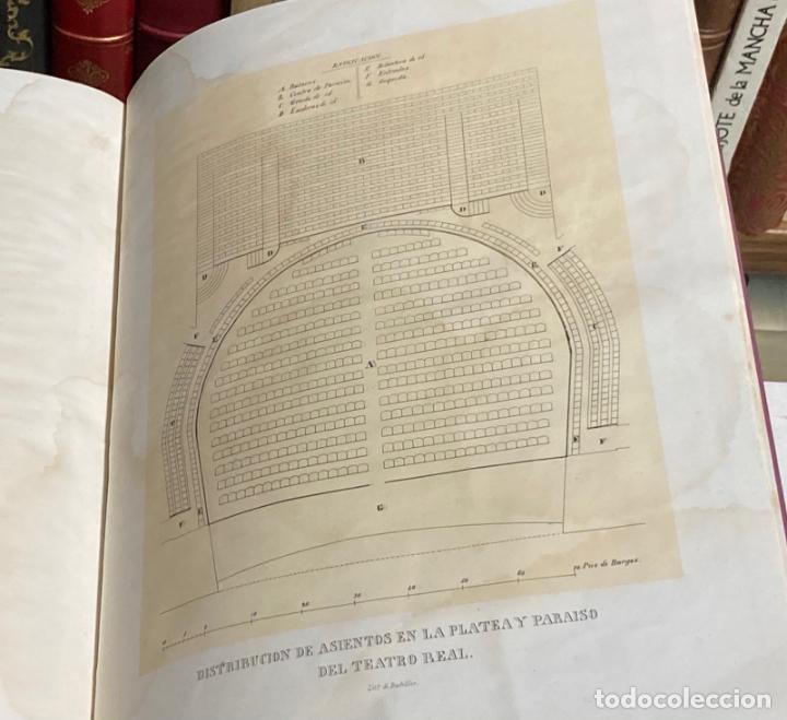 Libros antiguos: AÑO 1850 - MEMORIA HISTÓRICO ARTÍSTICA DEL TEATRO REAL DE MADRID POR MANUEL JUAN DIANA - LITOGRAFÍAS - Foto 6 - 219422920