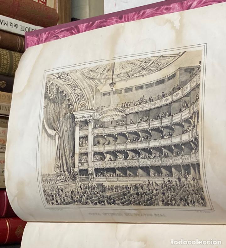 Libros antiguos: AÑO 1850 - MEMORIA HISTÓRICO ARTÍSTICA DEL TEATRO REAL DE MADRID POR MANUEL JUAN DIANA - LITOGRAFÍAS - Foto 7 - 219422920