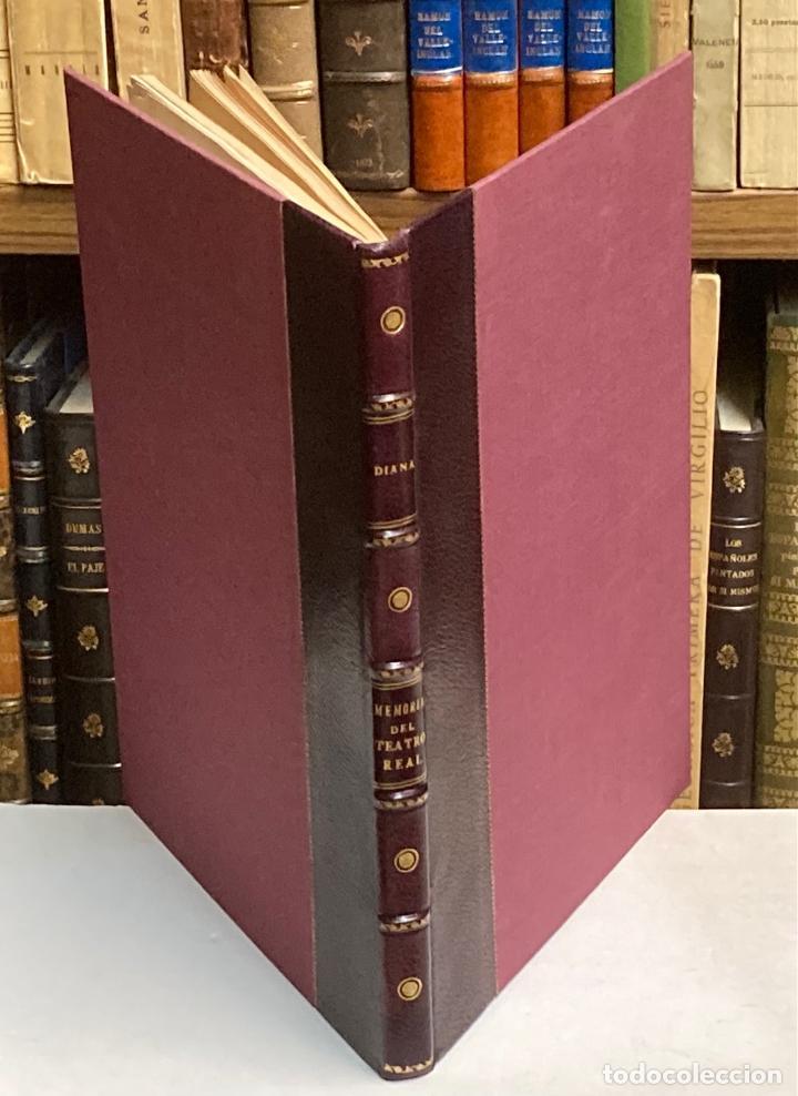 AÑO 1850 - MEMORIA HISTÓRICO ARTÍSTICA DEL TEATRO REAL DE MADRID POR MANUEL JUAN DIANA - LITOGRAFÍAS (Libros Antiguos, Raros y Curiosos - Bellas artes, ocio y coleccionismo - Otros)