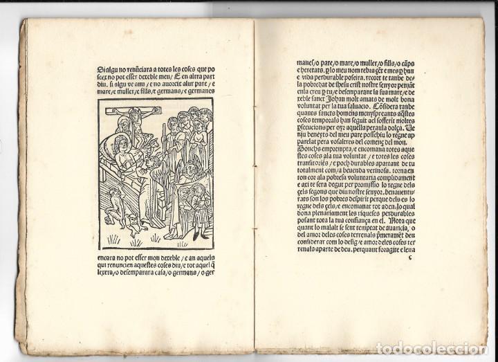 """Libros antiguos: """"Art de be morir"""" Facsímil del año 1905 - Foto 5 - 219652938"""