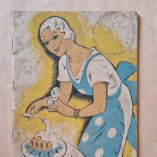 Libros antiguos: RECETARIO DE LECHE CONDENSADA LA LECHERA DE 1934. Lote 219843217