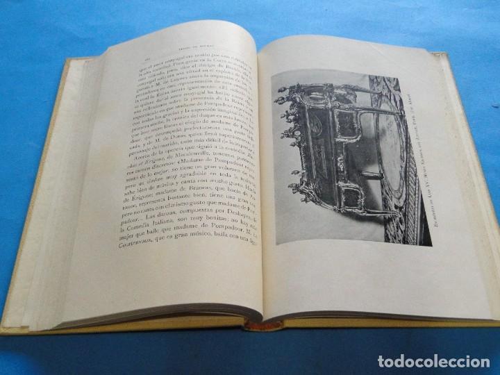 Libros antiguos: LUIS XV Y M.ME DE POMPADOUR SEGÚN DOCUMENTOS INÉDITOS.- DE NOLHAC, PEDRO - Foto 6 - 219861728