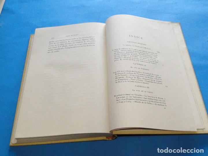 Libros antiguos: LUIS XV Y M.ME DE POMPADOUR SEGÚN DOCUMENTOS INÉDITOS.- DE NOLHAC, PEDRO - Foto 8 - 219861728