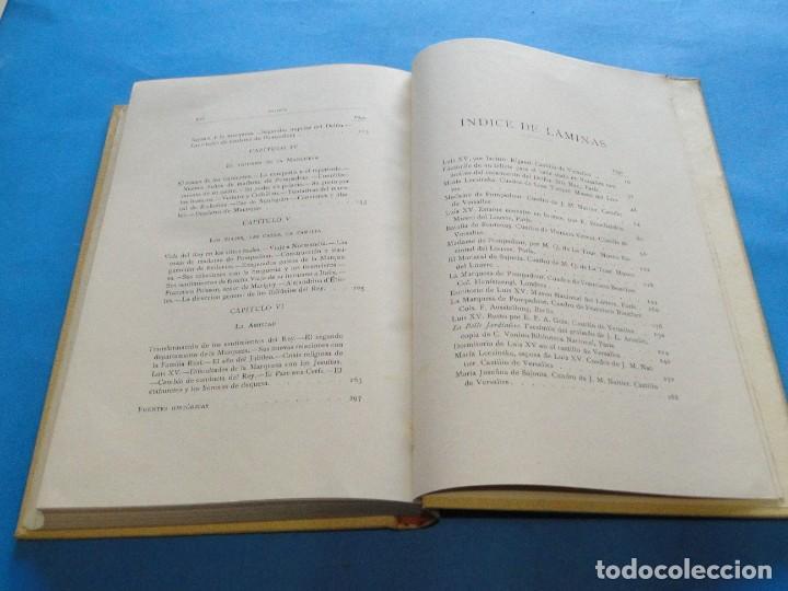 Libros antiguos: LUIS XV Y M.ME DE POMPADOUR SEGÚN DOCUMENTOS INÉDITOS.- DE NOLHAC, PEDRO - Foto 9 - 219861728