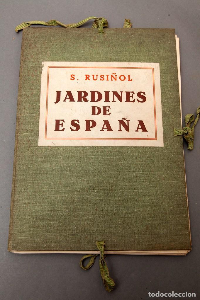 RUSIÑOL - JARDINES DE ESPAÑA - 1903 (Libros Antiguos, Raros y Curiosos - Bellas artes, ocio y coleccionismo - Otros)