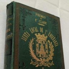 Libros antiguos: BIBLIOTECA HISTORICA DE CARTAGENA - 1889. Lote 220291992