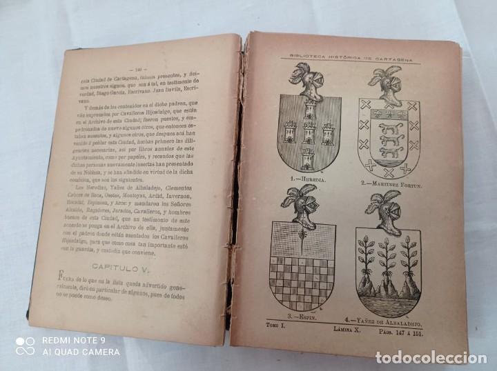 Libros antiguos: BIBLIOTECA HISTORICA DE CARTAGENA - 1889 - Foto 6 - 220291992