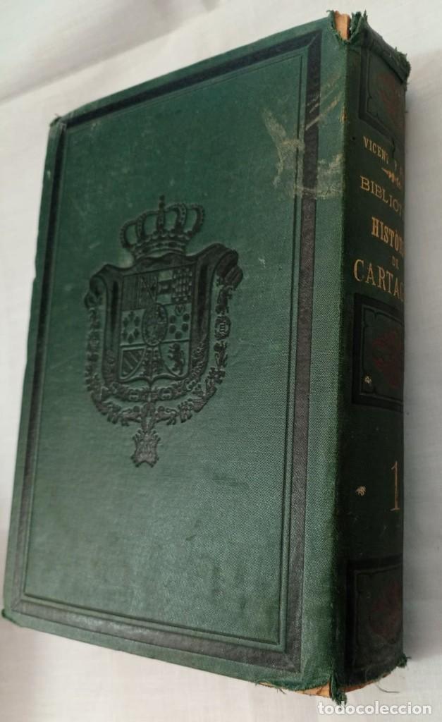 Libros antiguos: BIBLIOTECA HISTORICA DE CARTAGENA - 1889 - Foto 8 - 220291992