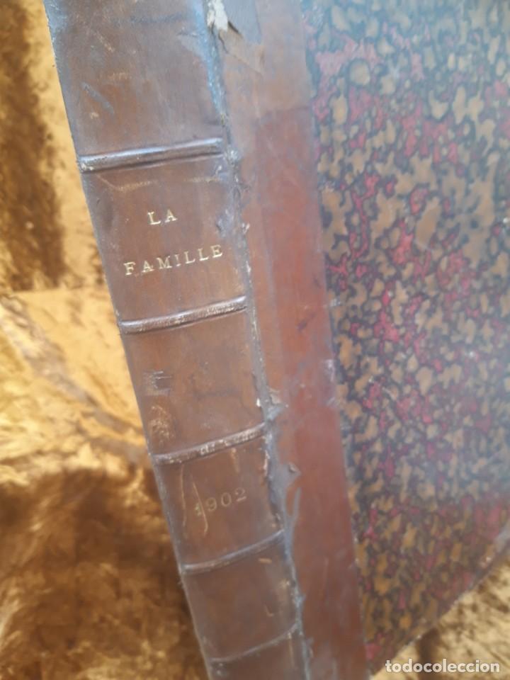 Libros antiguos: Encuadernable de La Famille 1902 - Foto 4 - 220365902