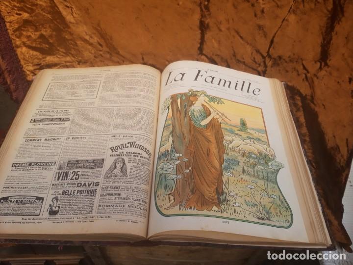 Libros antiguos: Encuadernable de La Famille 1902 - Foto 5 - 220365902