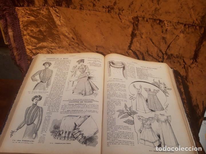 Libros antiguos: Encuadernable de La Famille 1902 - Foto 6 - 220365902