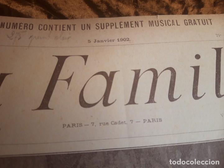 Libros antiguos: Encuadernable de La Famille 1902 - Foto 7 - 220365902