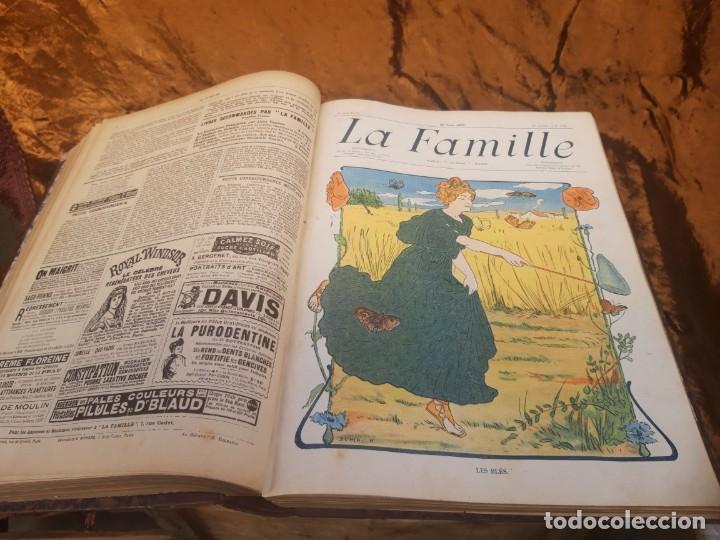 Libros antiguos: Encuadernable de La Famille 1902 - Foto 11 - 220365902