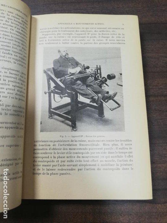 Libros antiguos: MECANOTHERAPIE. HYDROTHERAPIE. A. GILBERT. P. CARNOT. LIBRAIRE, PARIS. 1909. - Foto 5 - 220463802