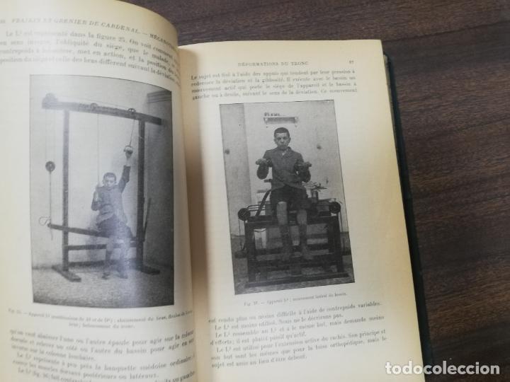 Libros antiguos: MECANOTHERAPIE. HYDROTHERAPIE. A. GILBERT. P. CARNOT. LIBRAIRE, PARIS. 1909. - Foto 7 - 220463802