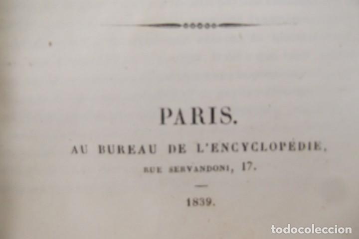 Libros antiguos: ¡¡ ENCYCLOPEDIE DES SCIENCIES MEDICALES, AÑO 1839. !! - Foto 11 - 220557627