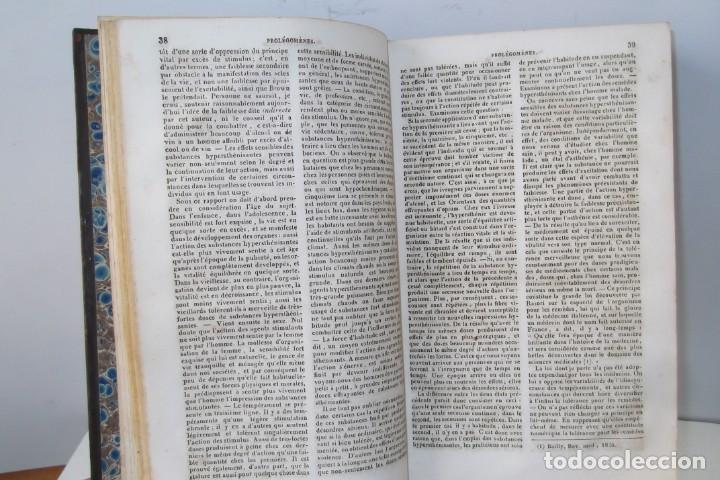 Libros antiguos: ¡¡ ENCYCLOPEDIE DES SCIENCIES MEDICALES, AÑO 1839. !! - Foto 12 - 220557627