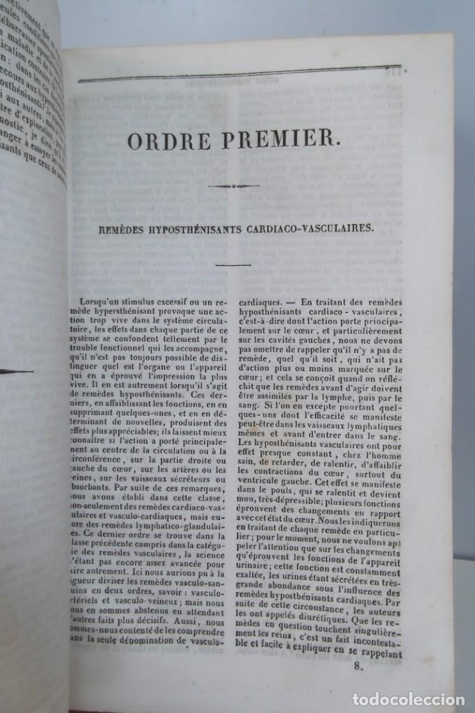 Libros antiguos: ¡¡ ENCYCLOPEDIE DES SCIENCIES MEDICALES, AÑO 1839. !! - Foto 14 - 220557627
