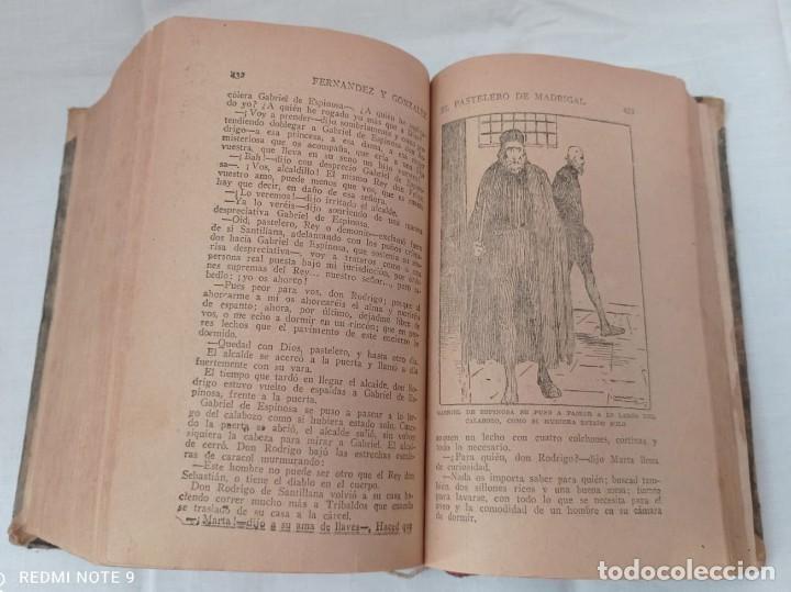 Libros antiguos: EL PASTELERO DE MADRIGAL AÑO 1900 - Foto 4 - 220608422