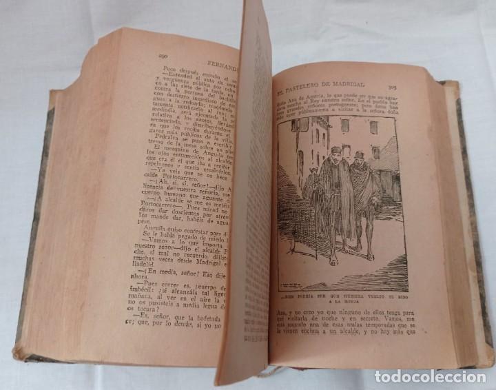 Libros antiguos: EL PASTELERO DE MADRIGAL AÑO 1900 - Foto 9 - 220608422