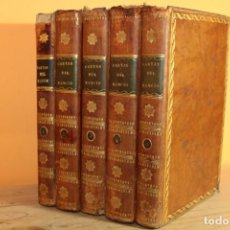 Libros antiguos: 1824-1825 / CARTAS CRITICAS QUE ESCRIBIO EL RMO.PADRE MAESTRO FR.ALVARADO,EL FILOSOFO RANCIO 5 TOMOS. Lote 220615671