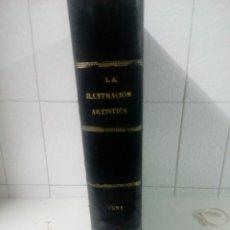 Libros antiguos: LA ILUSTRACIÓN ARTISTICA. TOMO X. AÑO 1891. MONTANER Y SIMON.. Lote 220670875
