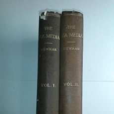 Libros antiguos: THE VIA MEDIA OF THE ANGLICAN CHURCH IN TWO VOLUMES 1891 JOHN HENRY CARDINAL NEWMAN LOGMANS GREEN. Lote 220720247