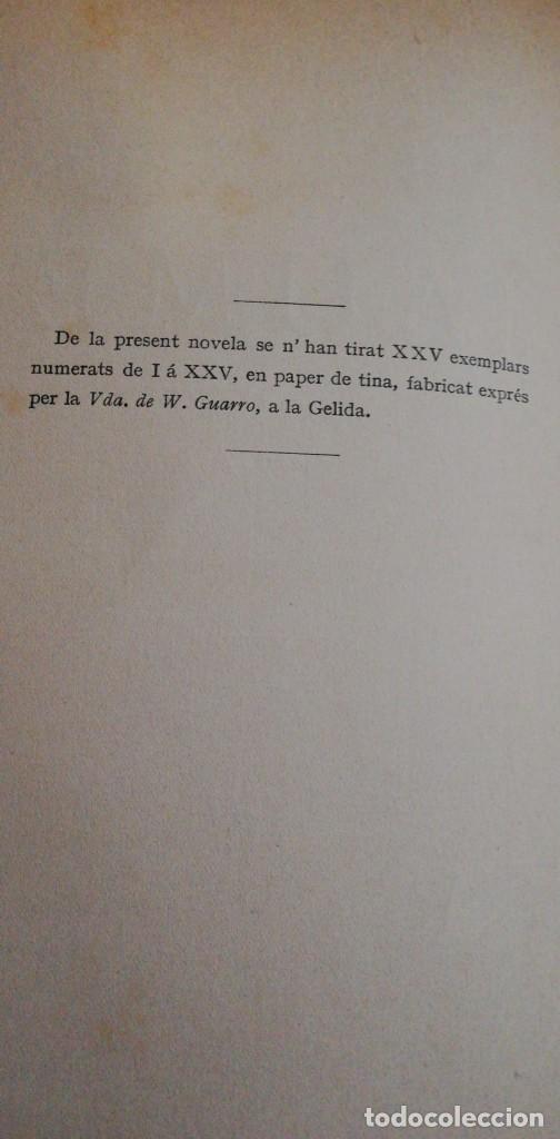 Libros antiguos: JAUME : NOVELA CATALANA. (1888) J. Pi y Soler - Foto 5 - 220809010