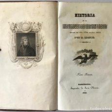 Libros antiguos: HISTORIA DE LA REVOLUCION DE FRANCIA DESDE EL AÑO 1789 HASTA 1814. CONTINUADA CON LA DE NAPOLEON, PO. Lote 123218251
