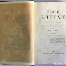 Libros antiguos: FLORE LATINE DES DAMES ET DES GENS DU MONDE. OU CLEF DES CITATIONS LATINES QUE L'ON RENCONTRE FRÉQUE. Lote 123206655