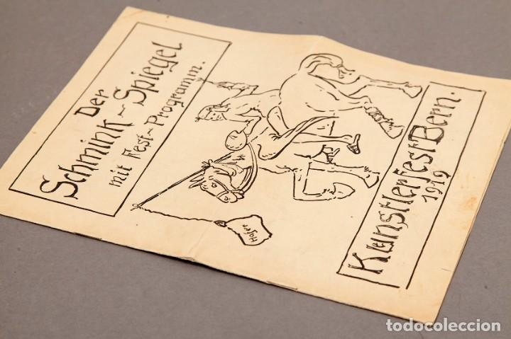 Libros antiguos: Der Schmink-Spiegel mit Fest-Programm - 1919 - Berna (Suiza) - Foto 2 - 220853110