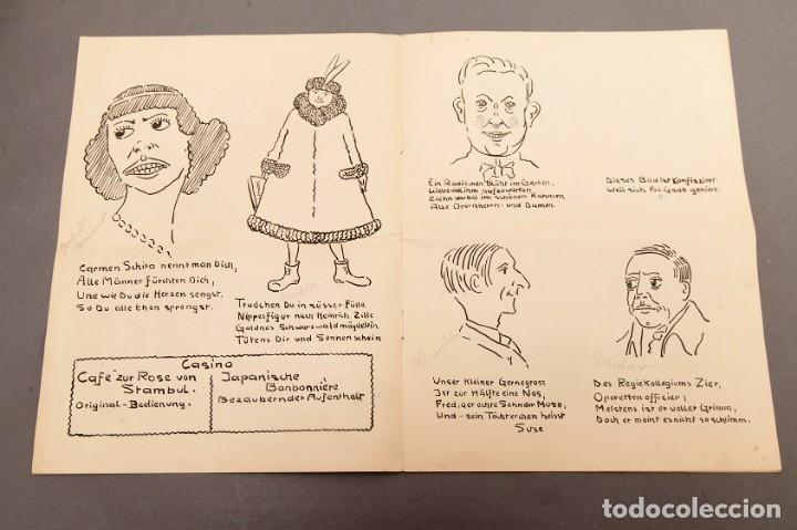 Libros antiguos: Der Schmink-Spiegel mit Fest-Programm - 1919 - Berna (Suiza) - Foto 3 - 220853110