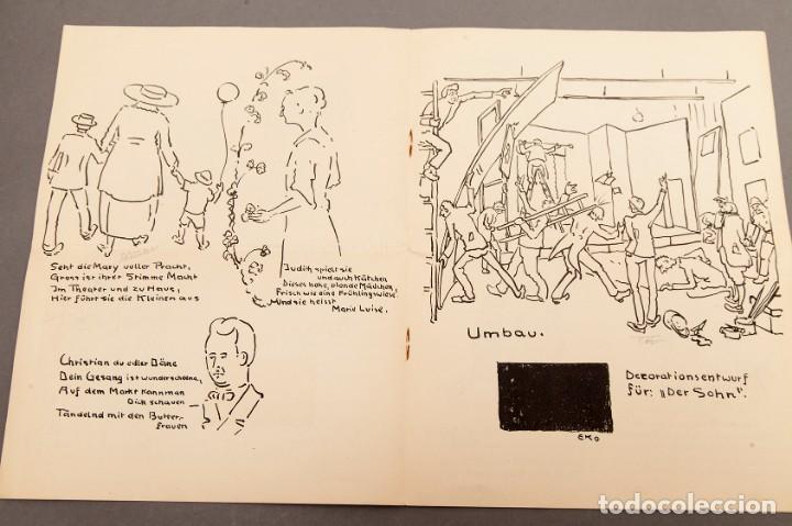 Libros antiguos: Der Schmink-Spiegel mit Fest-Programm - 1919 - Berna (Suiza) - Foto 4 - 220853110