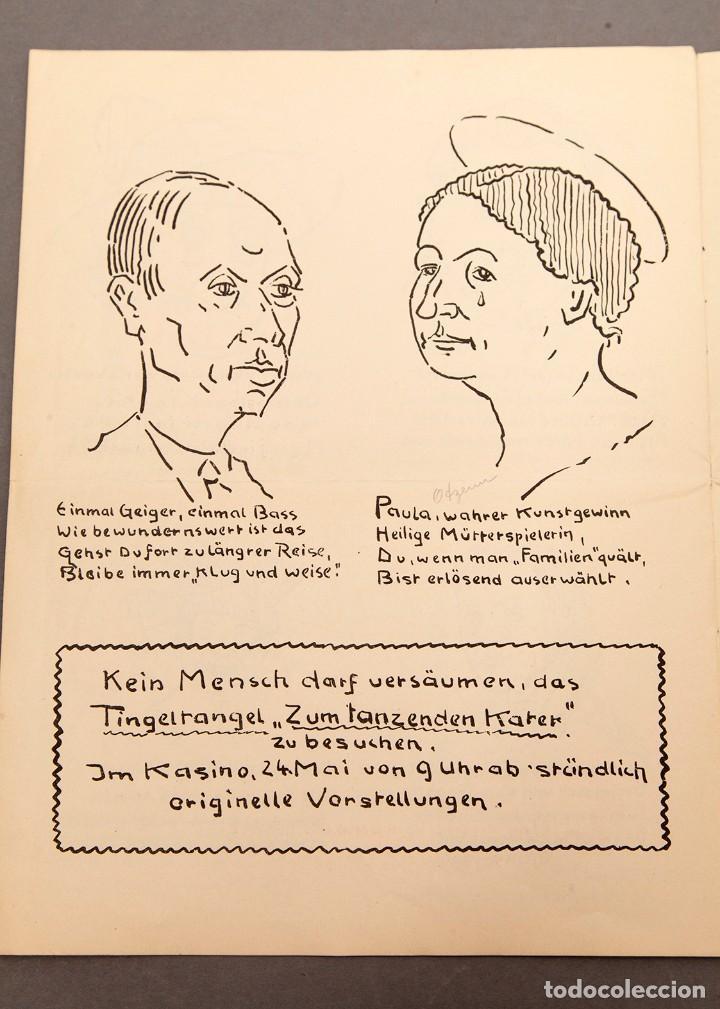 Libros antiguos: Der Schmink-Spiegel mit Fest-Programm - 1919 - Berna (Suiza) - Foto 7 - 220853110
