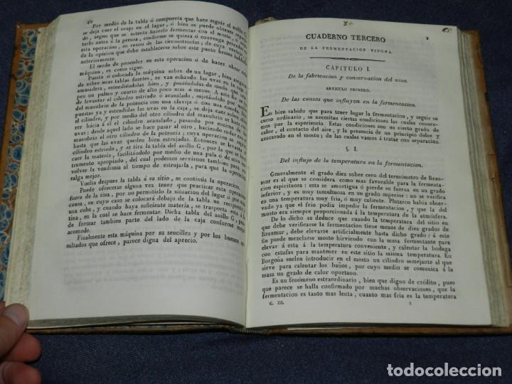 Libros antiguos: Dr.FRANCISCO CARBONELL Y BRAVO,MANUAL DE LA FABRICACION DEL VINO Y DEL VINAGRE O SEA ARTE DE HACER Y - Foto 2 - 220936581