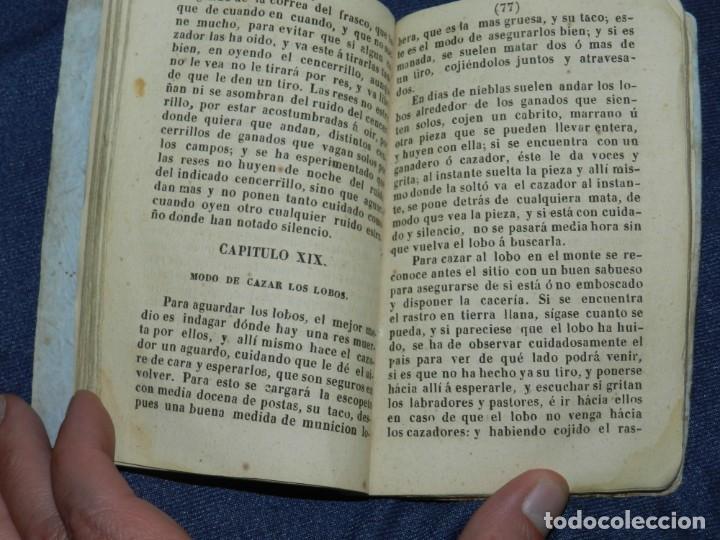 Libros antiguos: CAZA - 1844 - EL CAZADOR PRACTICO Ó ARTE DE MANEJAR LA ESCOPETA .CON LAS REGLAS PARA CAZAR - Foto 4 - 220964825