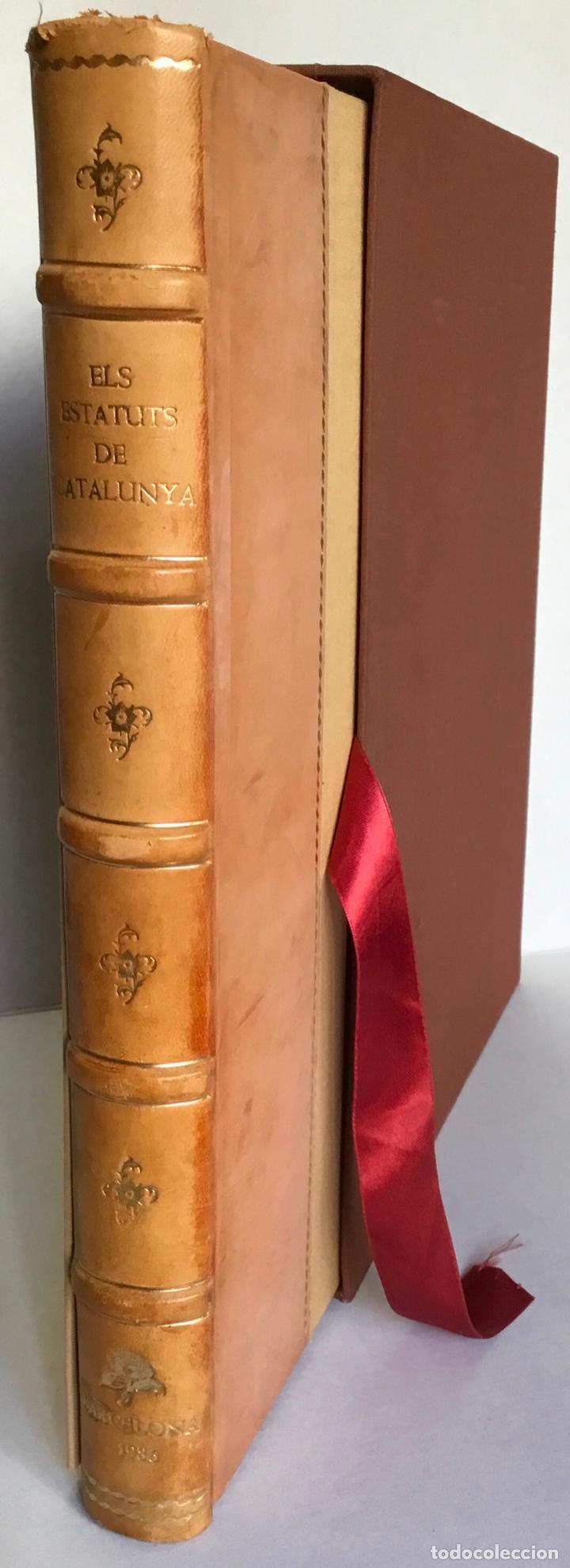 Libros antiguos: ESTATUTS (ELS) DE CATALUNYA. - Foto 2 - 123143904