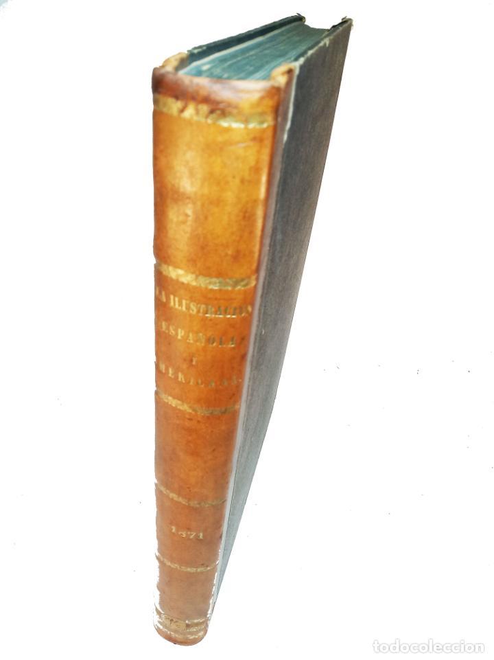 Libros antiguos: La ilustración Española y Americana. Año completo. 1871. Profusamente ilustrado. Folio. - Foto 2 - 221093098