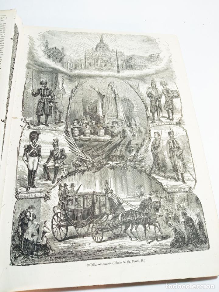 Libros antiguos: La ilustración Española y Americana. Año completo. 1871. Profusamente ilustrado. Folio. - Foto 5 - 221093098