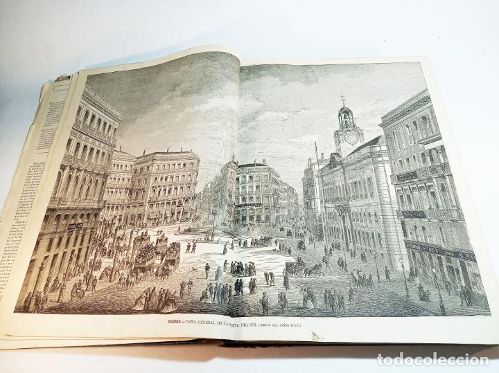 Libros antiguos: La ilustración Española y Americana. Año completo. 1871. Profusamente ilustrado. Folio. - Foto 6 - 221093098