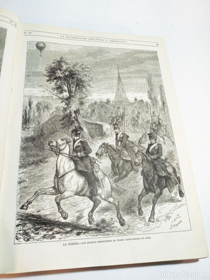 Libros antiguos: La ilustración Española y Americana. Año completo. 1871. Profusamente ilustrado. Folio. - Foto 7 - 221093098