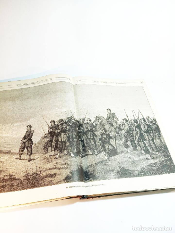 Libros antiguos: La ilustración Española y Americana. Año completo. 1871. Profusamente ilustrado. Folio. - Foto 8 - 221093098