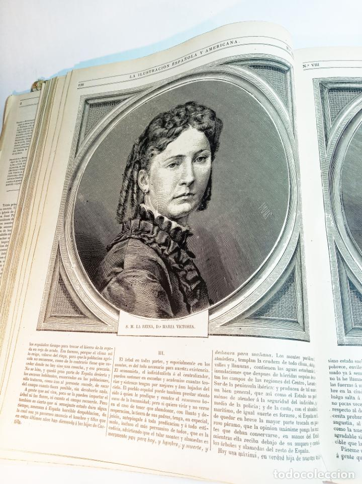 Libros antiguos: La ilustración Española y Americana. Año completo. 1871. Profusamente ilustrado. Folio. - Foto 9 - 221093098