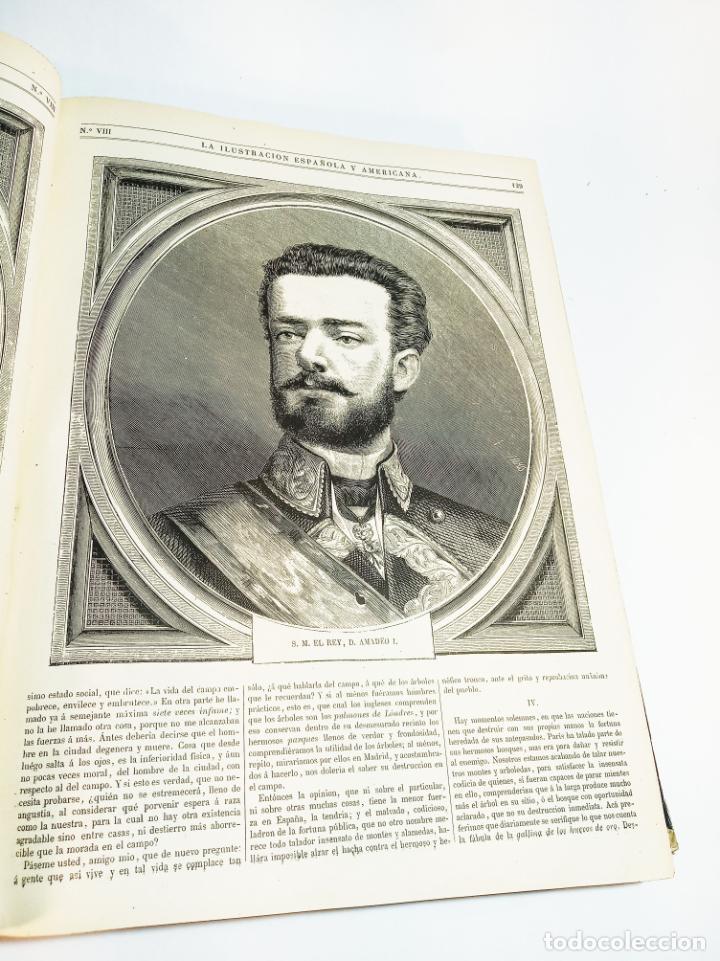 Libros antiguos: La ilustración Española y Americana. Año completo. 1871. Profusamente ilustrado. Folio. - Foto 10 - 221093098