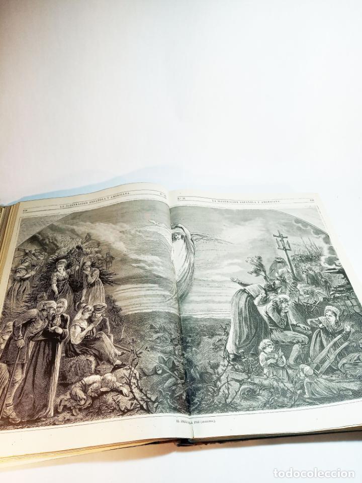 Libros antiguos: La ilustración Española y Americana. Año completo. 1871. Profusamente ilustrado. Folio. - Foto 11 - 221093098