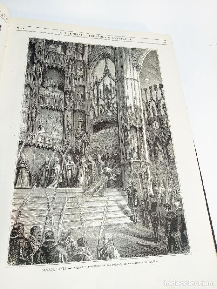 Libros antiguos: La ilustración Española y Americana. Año completo. 1871. Profusamente ilustrado. Folio. - Foto 13 - 221093098