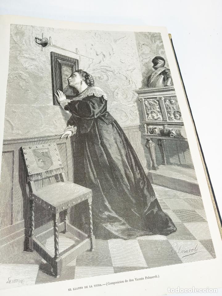 Libros antiguos: La ilustración Española y Americana. Año completo. 1871. Profusamente ilustrado. Folio. - Foto 14 - 221093098