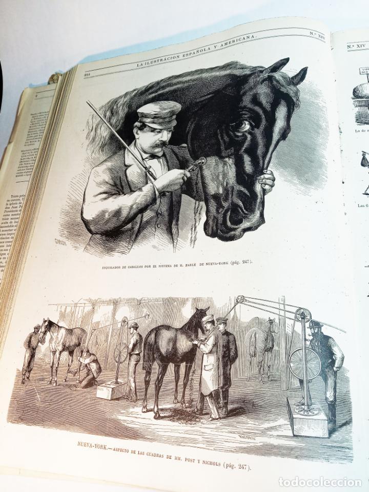 Libros antiguos: La ilustración Española y Americana. Año completo. 1871. Profusamente ilustrado. Folio. - Foto 15 - 221093098